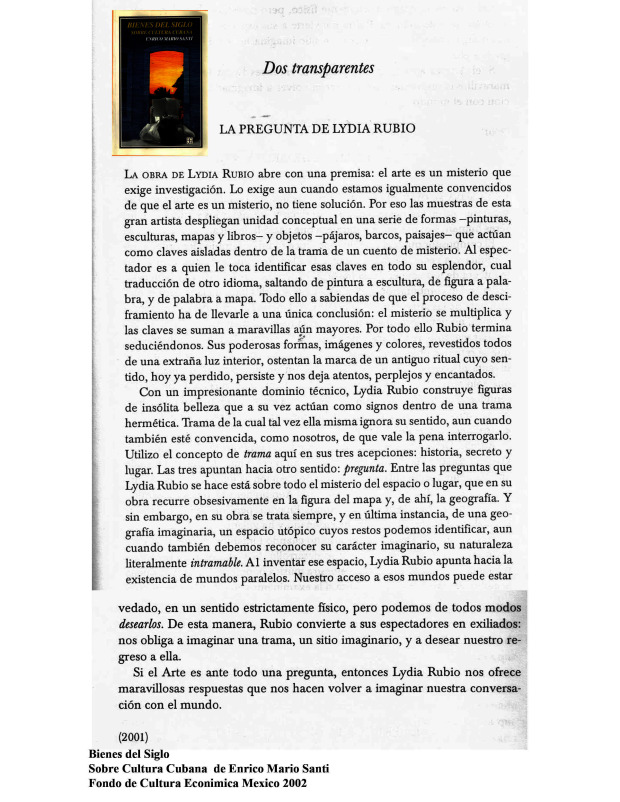La Pregunta Enrico M Santi